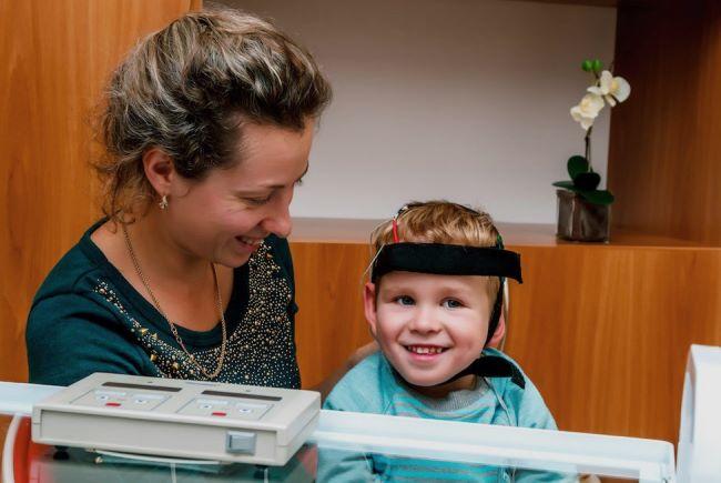 Микрополяризация мозга головы ребенку